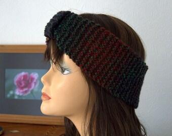 Handmade Hand Knitted Headband, Ear Warmer, Winter Warmth
