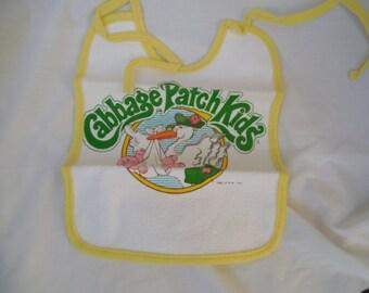 Cabbage Patch Kids bib - 1983