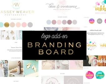 Logo Design Add-on Branding Board