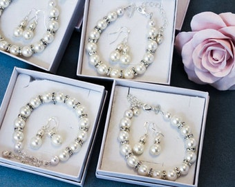 Bridesmaids Jewelry Set