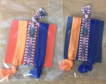 SALE *** University of Florida Gators hair ties/bracelets *** SALE
