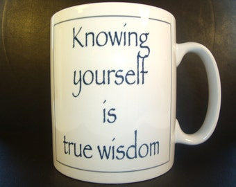 Wise mug 10oz ceramic mug uk