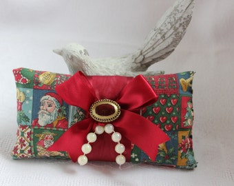 Lavender Christmas gift bag