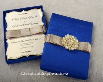 Silk Boxed Invitation