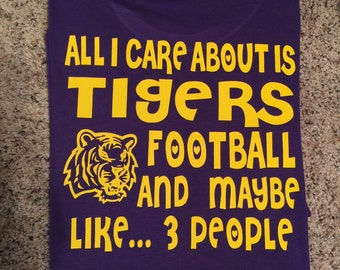 All I care about lsu football