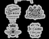 CLEARANCE SALE!  Graphic 45 French Country Stamps 3 SC005991