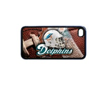 Miami Dolphins cell phone Case rubber Cover for iPhone 5 / Unique Football Fan Gift / RIPFIVE916