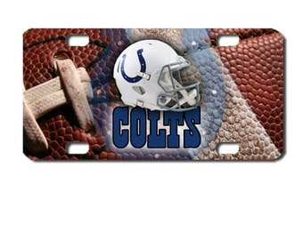 colts license plate �C Etsy