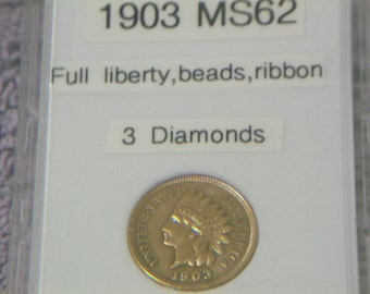 MS 1903 Indian Head Penny