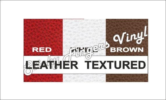Choose Color Heat Transfer Vinyl Leather Texturedlarge