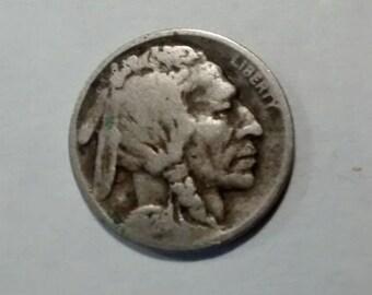 1924-S Buffalo Nickel
