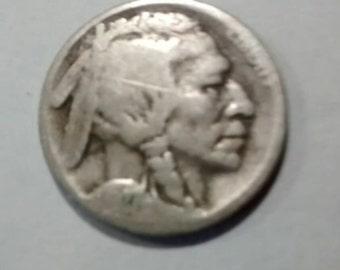 1927-D Buffalo Nickel