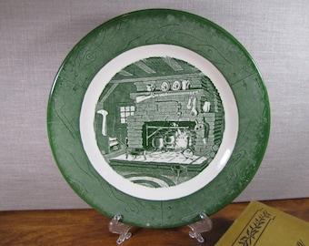 Vintage Royal Colonial Homestead - Hearth - Dinner Plate