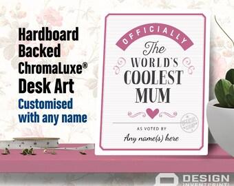 Mum Gift, For New Mum! Mum birthday, Mum To Be, Mum Print, Mum Wedding Gift, Picture Frame, Personalized And Delivered Direct To Mum's Door!
