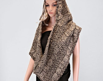 Hooded Chainmail Scarf
