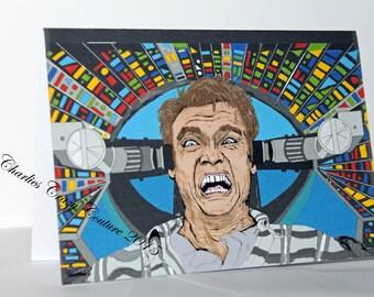 Total Recall Arnold Schwarzenegger (A6 card)