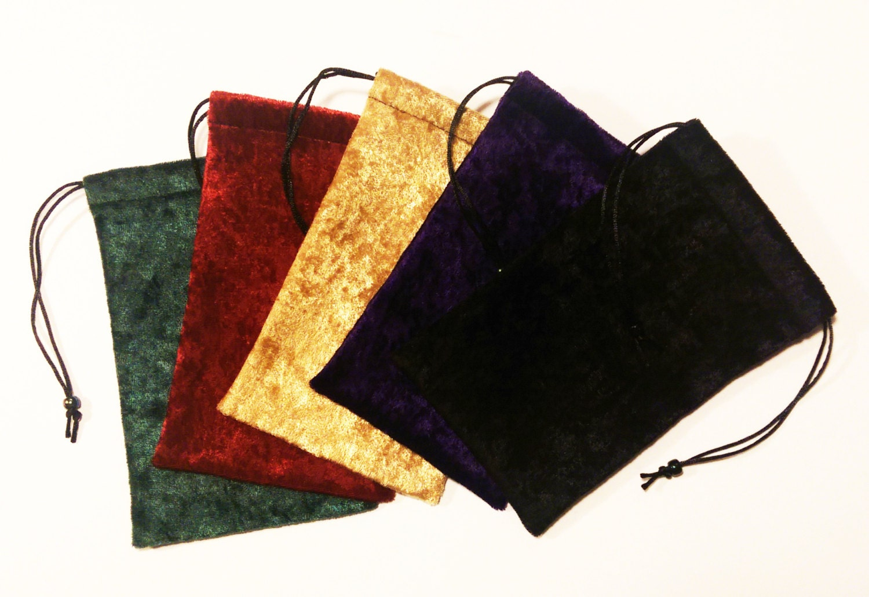 Velvet tarot bag gift drawstring in