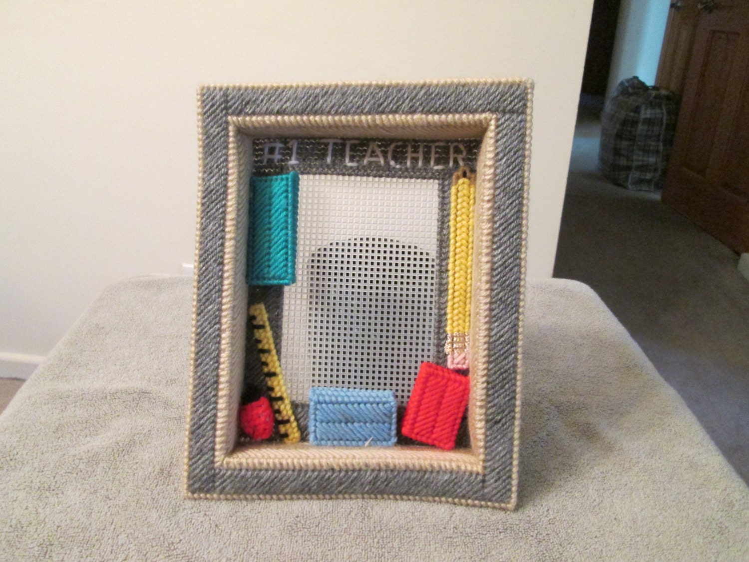 how to make a shadow box frame for canvas