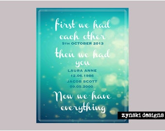 First we had each other - Printable Only