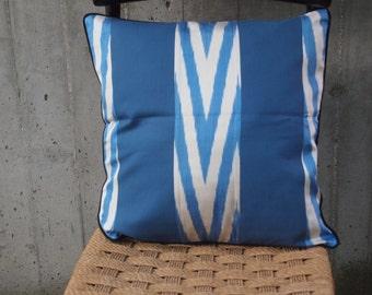 COTTON AND IKAT cushion