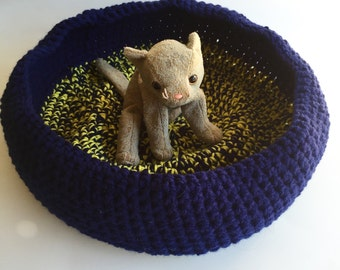 Crochet Cat Bed, Cat Bed, Crochet Bed, Crochet Cat, Cat, Cat Accessory, Cozy Cat Bed
