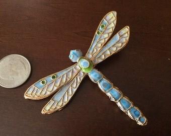 Dragonfly Ceramic Brooch