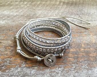Isla Beaded Wrap Bracelet