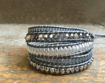 Petra Beaded Wrap Bracelet