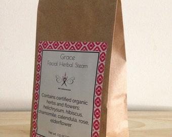 Grace Facial Herbal Steam Ma Organics