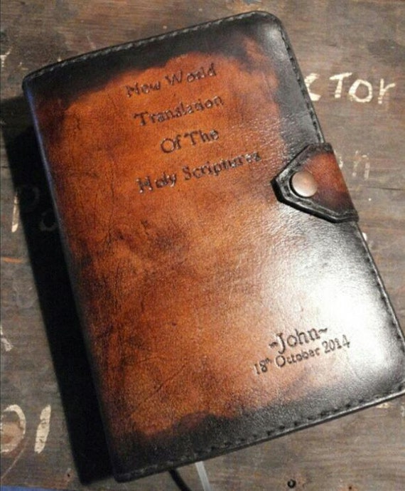 handmade leather bible covers handmade standard size jw leather bible cover for new world 4584