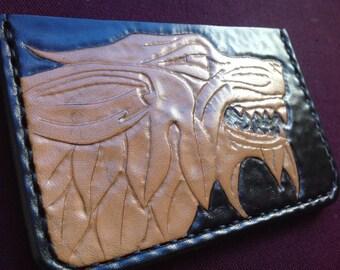 Celtic Fenrir card wallet