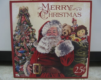 Christmas Decorations-Christmas Decor-Christmas Wall Decor/Hanging-Santa Picture