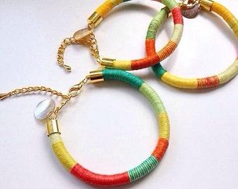 Bracelets colorful, multicolor