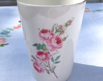 Old Foley porcelain beaker