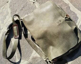 Shoulder Bag leather Green