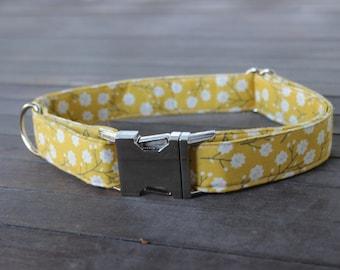 Yellow Calico Collar