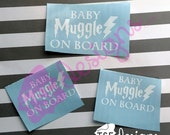 Baby Muggle on Board deca...