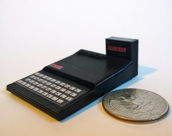 Mini Sinclair ZX81 - 3D Printed!