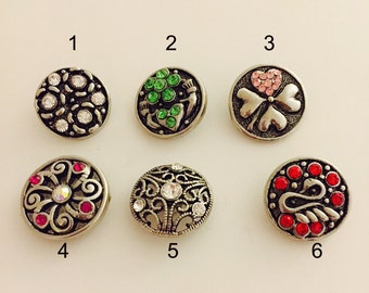 Snap Jewelry Buttons 18-21mm