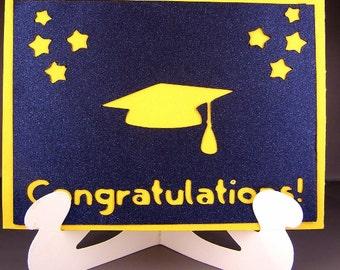 Peek A Boo Graduation Card