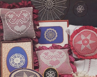 Vintage Plaid Doilies and Other Delights in Crochet