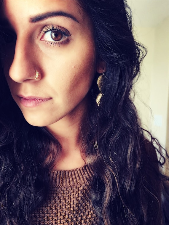Nose Ring Indian nose ring nose rings Septum Handmade