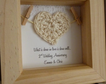2nd Wedding Anniversary Gifts Cotton For Him : gift, 2nd cotton anniversary gift, cotton anniversary, 2nd wedding ...