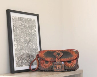 Small Brown/Tan Shoulder Bag ON SALE NOW