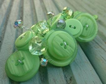 Spot of Lime Button Buttonholes