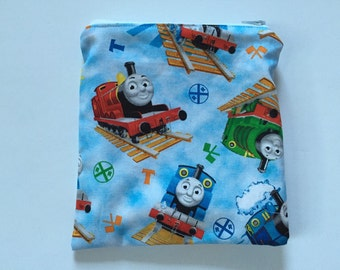 Thomas the Train Reusable snack bag, sandwich bag etc...