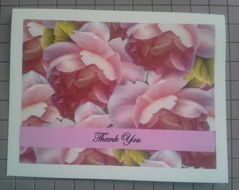Thank You Note Cards (10 Blank)