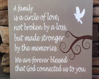 loss of a child, loss of a loved one, hand painted, wood sign, memorial sign, sympathy gift, loss of a baby, in loving memory, never forget