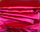 Raspberry pink satin-y up...