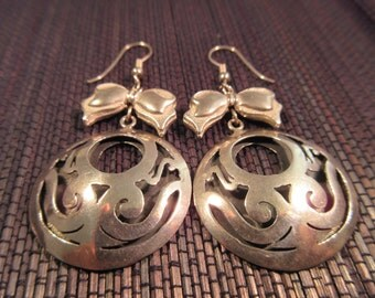 Vintage 900 Silver Earrings - Mexico